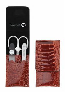 Nigeloh Edition Straußenbein S 3 tlg Etui - topInox