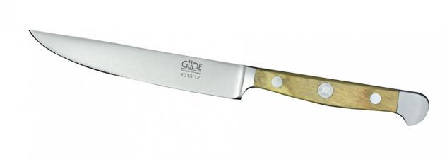 Güde Steakmesser Alpha Olive - 12 cm. aus Solingen