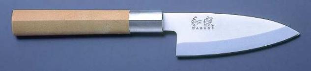 KAI Wasabi Deba 105 mm Fleischmesser Kochmesser