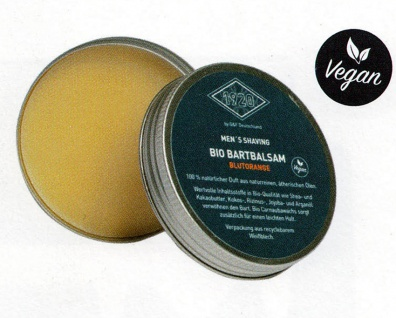 G&F 1920 Bartbalm BIO-Qualitä Blutorange 50 ml