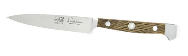 Güde Gemüsemesser Spickmesser- Küchenmesser 10 cm - Alpha Faßeiche aus Solingen