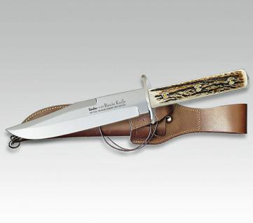 Linder Flachangel-Bowie 20 cm 440 Stahl, aus Solingen