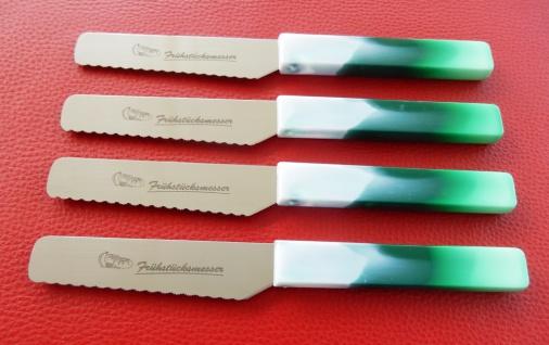 Brötchenmesser Frühstücksmesser Grün von ISS aus Solingen