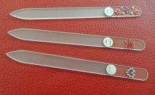 Glasnagelfeile-Swarovski 14 cm Niegeloh je 1 Stück