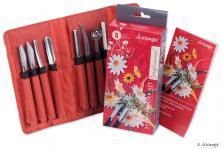 triangle® Schnitzmesser Set Professional, 8-tlg aus Solingen