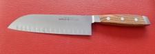 Kochmesser Santoku Kulle Klingenlänge 18 cm aus Solingen