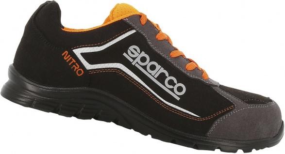 Sparco Sicherheitsschuhe Black Orange Nitro S3