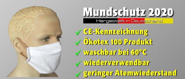 Mundschutzmaske 2020 CE Waschbar