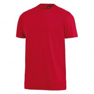 FHB JENS T-Shirt, einfarbig, weiß, Gr. 2XL - Vorschau 3