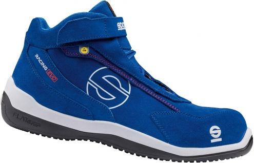 Sparco Sportliche Sicherheitsschuhe Blue Racing Evo ESD S3
