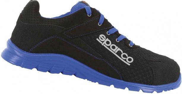 Sparco Sicherheitsschuhe Black Blue Practice S1P