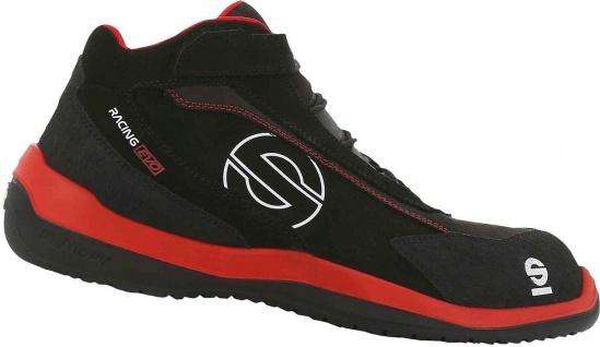 Sparco Sicherheitsschuhe Black Red Racing Evo S3