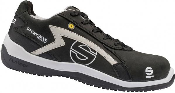 Sparco Sicherheitsschuhe Black Grey Sport Evo ESD S3