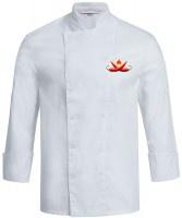 Kochjacke CHILI weiß mit Druckknöpfen - Vorschau 3