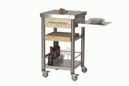 JOKO Küchenwagen 1 Schublade aus Edelstahl - Kaufen bei Gastro-Planet