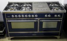 Edelstahl-Gasherd ILVE Majestic M-150-SMP !!!Ausstellerstück!!!