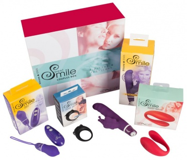 Erotik-Set »Sweet Smile - Couples Box« für Paare - 5-teilig