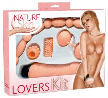 Lovetoy-Set »Lovers Kit« aus »Nature Skin« - 5-teilig
