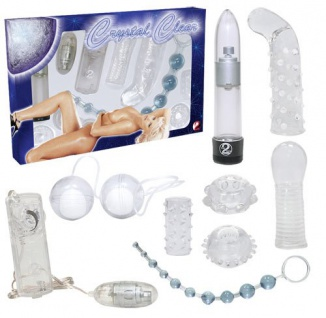 Lovetoy-Set »Crystal Clear« - 8-teilig - Transparent