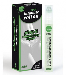Intimate Roll On »cool« - Massage-Roller & Stimulanz: Mint - Inhalt 10 ml , Grundpreis: 29.50 € pro 100 ml
