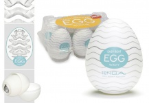 Tenga Egg Wavy - Masturbator in Ei-Form - 6er-Pack
