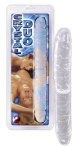 Doppel Dildo »Crystal Duo« - 34 cm lang - Transparent