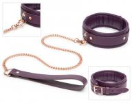 Fifty Shades of Grey » Freed - Leather Collar & Lead« - Leder-Halsband mit Leine
