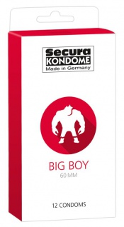 Secura Kondome »Big Boy 60 mm«
