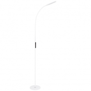 LED Steh Leuchte Touch dimmbar Tageslicht Lampe weiß Opal Wohn Zimmer Stand Strahler Globo 58398S