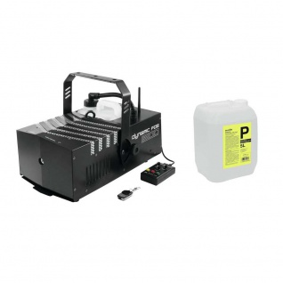 EUROLITE Set Dynamic Fog 1500 Flex + Smoke Fluid -P2D- 5l 20000077