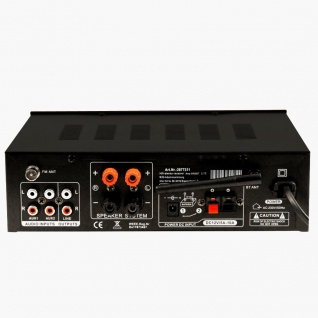 Stereo Receiver FM Radio Tuner Verstärker Bluetooth USB SD MP3 Fernbedienung AMP5000BT 4