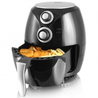 Heißluft Fritteuse 1400 Watt Air Smart Fryer Ofen Fritöse Haushalt 3, 6 L Timer Emerio AF-112828