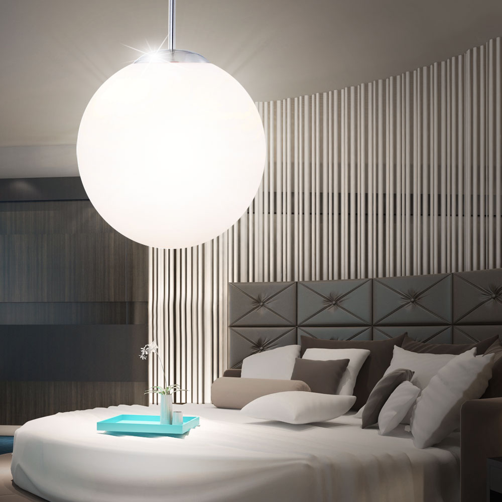 led 9 5 watt pendelleuchte h ngelampe schlafzimmer opal. Black Bedroom Furniture Sets. Home Design Ideas