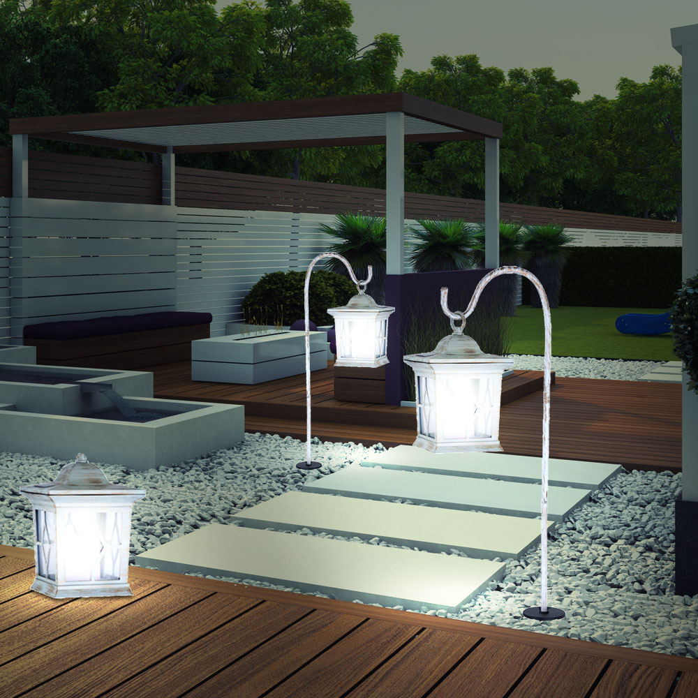 Auenlampen led affordable elegant full size of moderne for Balkon laterne