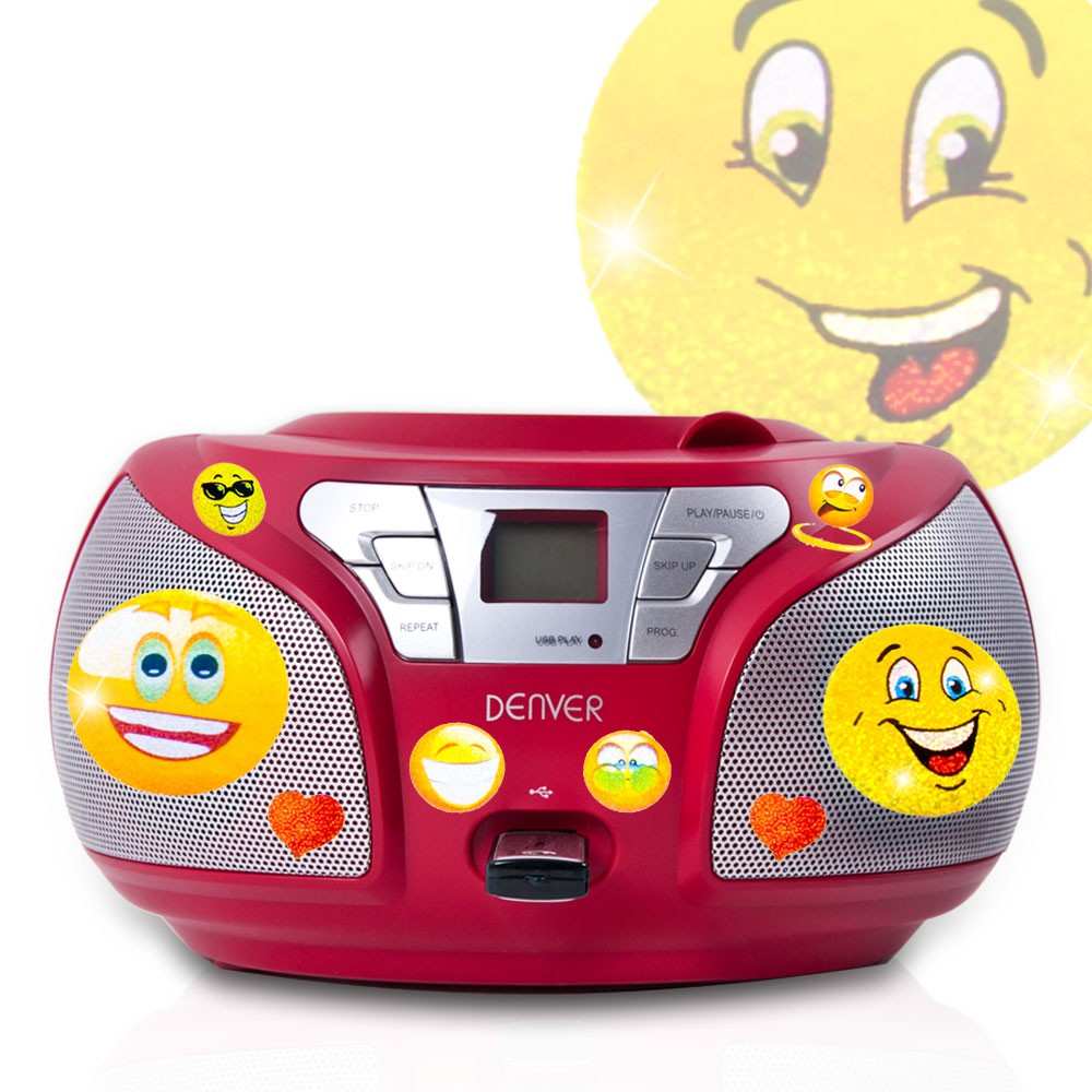 stereo radio cd player usb anschluss boombox musik anlage. Black Bedroom Furniture Sets. Home Design Ideas