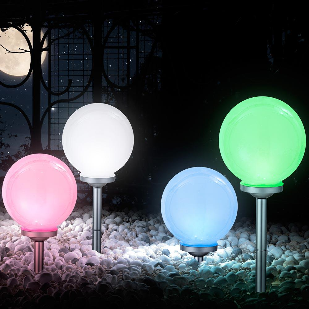solar led au enleuchte ip44 gartenleuchte farbwechsel lampe kugel globo 33793 kaufen bei www. Black Bedroom Furniture Sets. Home Design Ideas