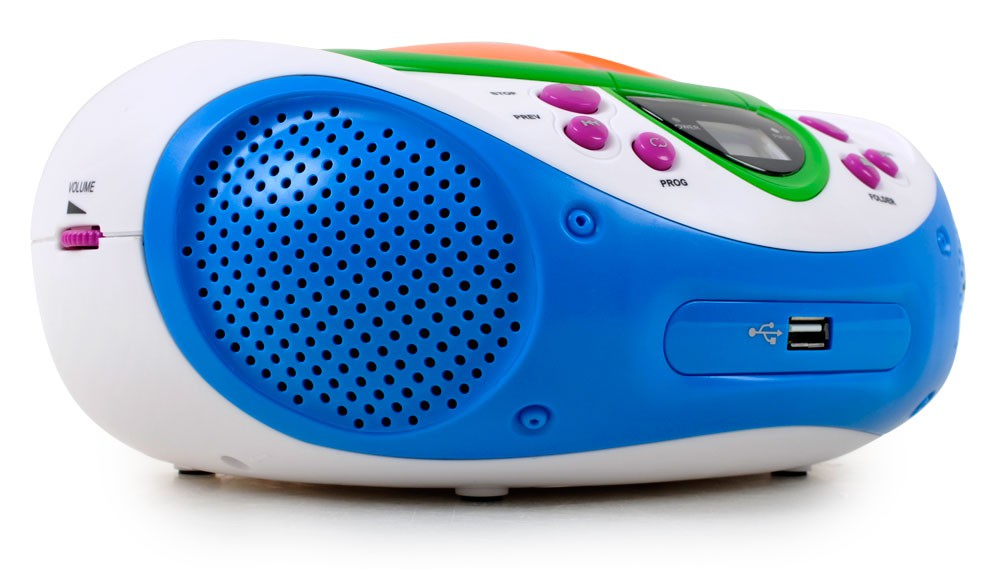 Kinder Stereo Musik Anlage Radio Toplader CD/MP3-Player AUX Lenco ...