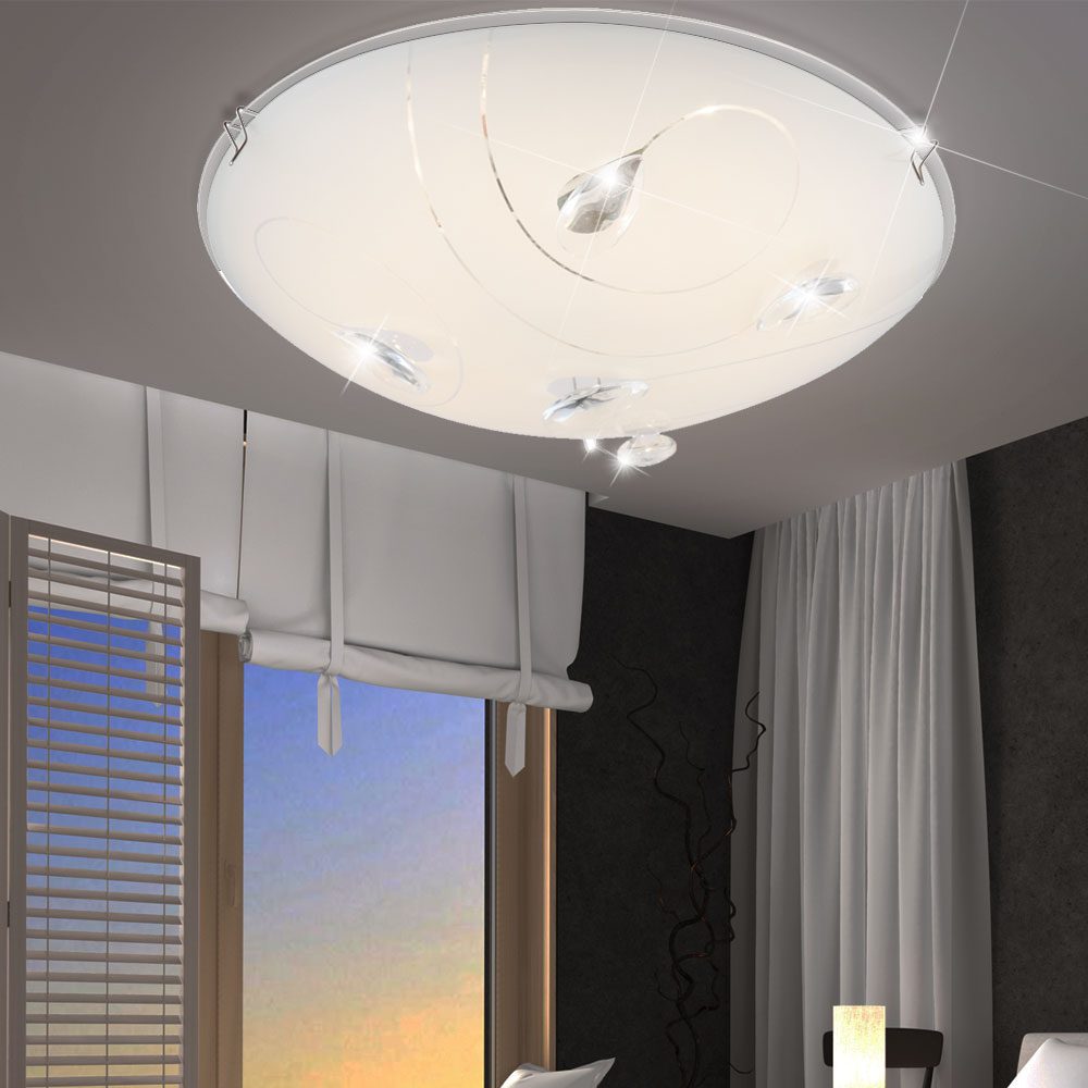 8w led deckenleuchte flur diele k che decken leuchte deckenlampe globo 40430 kaufen bei www. Black Bedroom Furniture Sets. Home Design Ideas