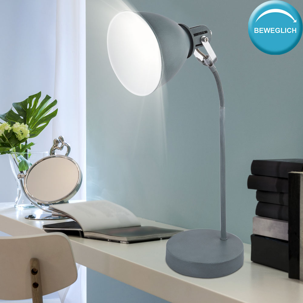 LED Wand Spot Strahler Schlaf Ess Zimmer Beleuchtung Chrom Lese Lampe beweglich