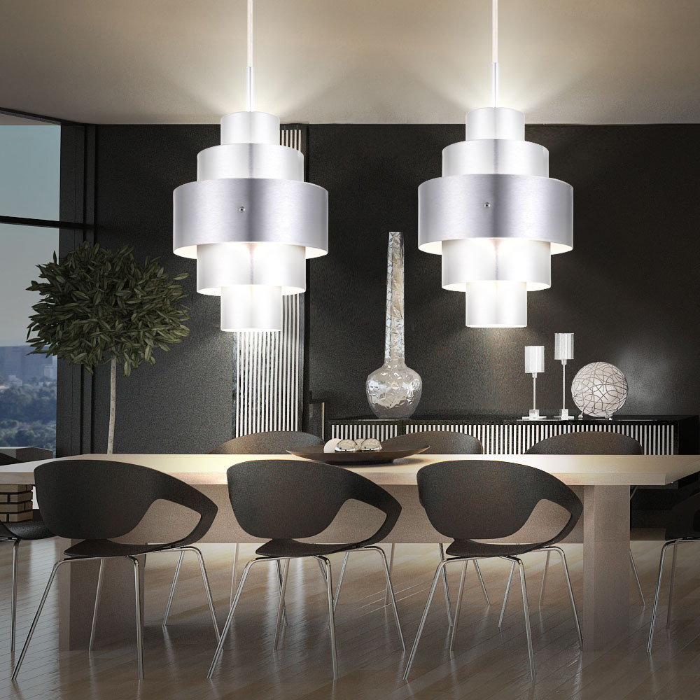 Lampen fr esszimmer affordable luxus er set pendel hnge for Lampen esszimmer designer