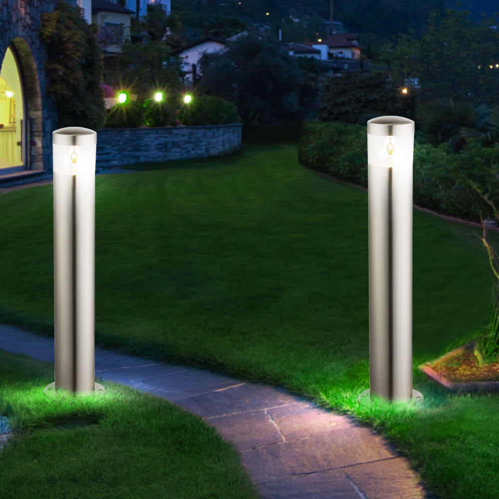 4er set led au en lampen garten weg bewegungs sensor. Black Bedroom Furniture Sets. Home Design Ideas