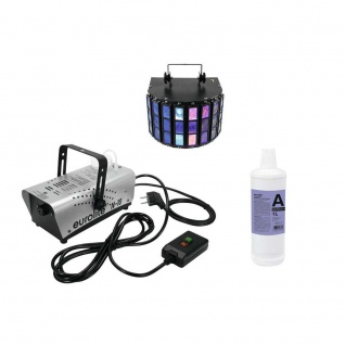 EUROLITE Set N-10 silber + A2D Fluid 1l + LED Mini D-5 20000271