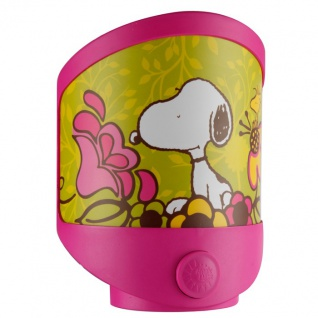 LED Snoopy Nacht Tisch Leuchte Kinder Zimmer Beleuchtung Wand Lampe Globo 662390