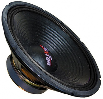 Car-Subwoofer Hi-Fi Anlage Sound Audio Bass 300 Watt Tuning BlackLine 15 380mm