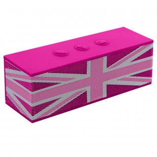 Musik Lautsprecher Box Bluetooth Mädchen Union Flag Subwoofer pink Big Ben BT01GBGIRLY