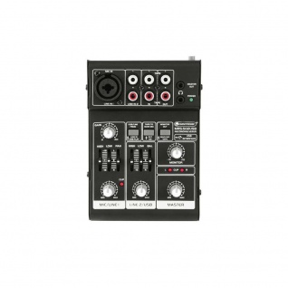 OMNITRONIC MRS-502USB Recording-Mixer 10040270