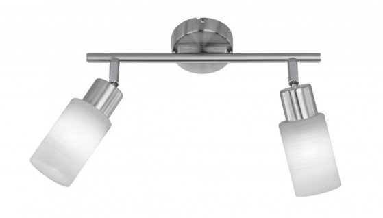 Eleganter 8W LED Spot Strahler Chalet Nickel matt Metall Licht TRIO 871410207