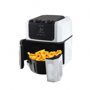 Heißluft Fritteuse 80% weniger Öl 800g Cool Touch Smart Fryer Emerio AF-107604.2