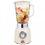850W Stand Mixer Smoothie Maker Party Ice Crusher Edelstahl Glas 1, 5 Liter Behälter Bestron ABL850RE
