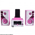 Micro System USB Prinzessin Bluetooth Stereo Anlage Radio Uhr Wecker Funktion Lenco MC-020_princess